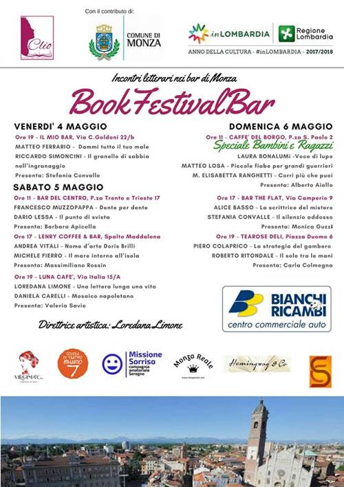 Appuntamento a Monza con Daniela Carelli al BookFestivalBar