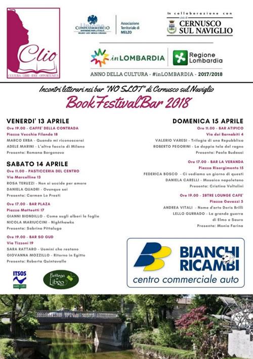 Mosaico napoletano di Daniela Carelli al BookFestivalBar di Cernusco sul Naviglio