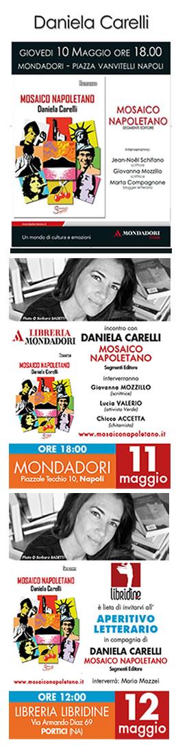 Daniela Carelli presenta Mosaico napoletano al pubblico di Napoli